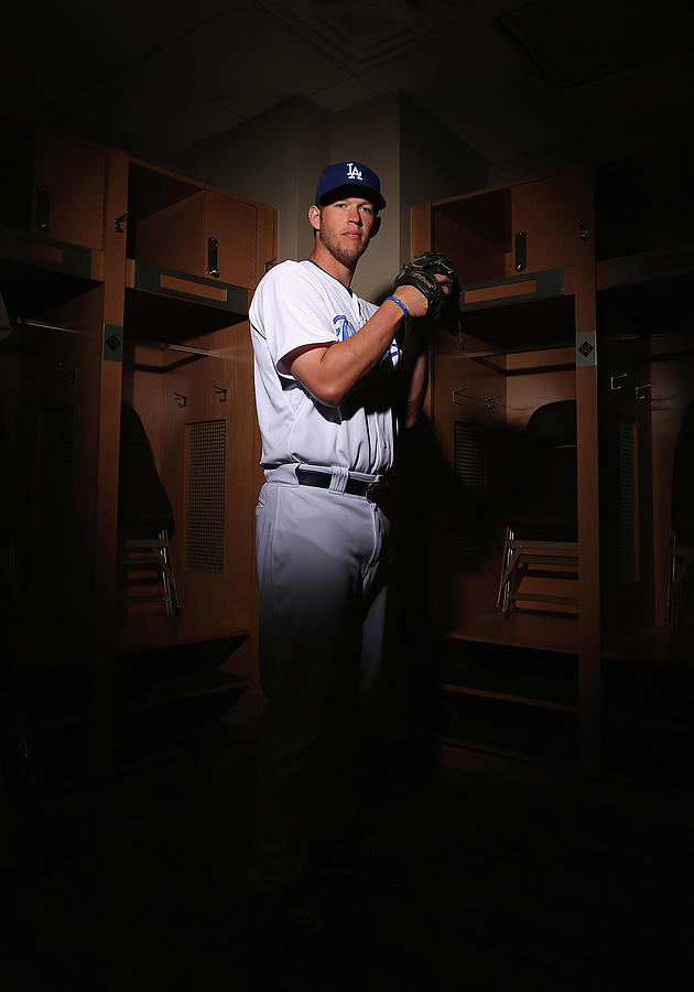 Clayton Kershaw Photograph by Christian Petersen