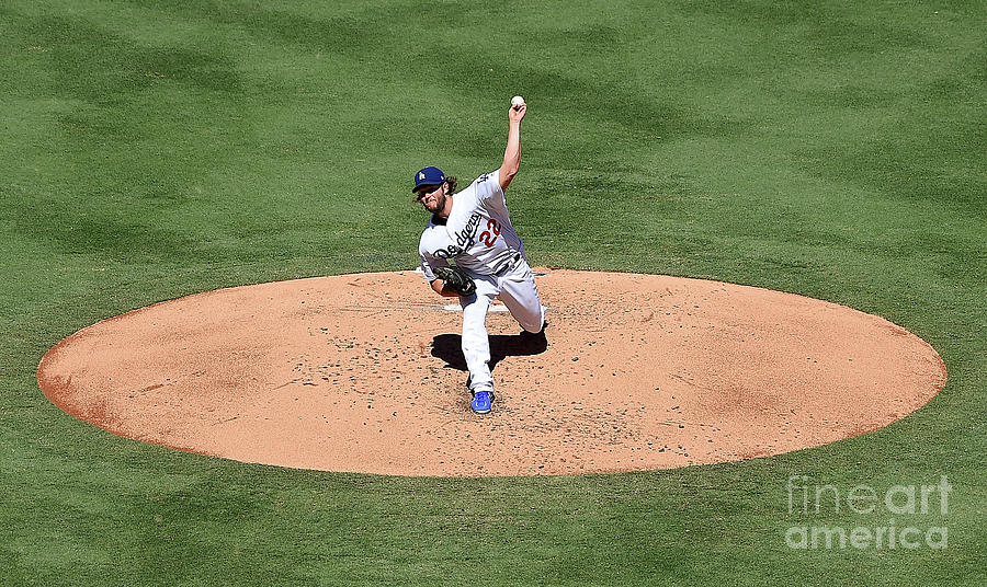 Clayton Kershaw Photograph by Jayne Kamin-oncea