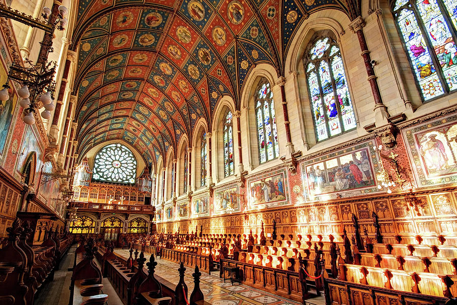Maynooth Photograph - College Chapel - Maynooth University, Ireland by Barry O Carroll