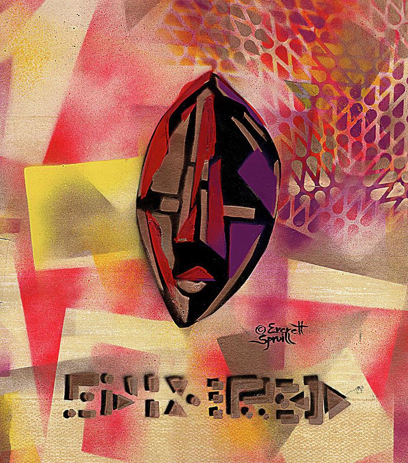Dan Mask by Everett Spruill