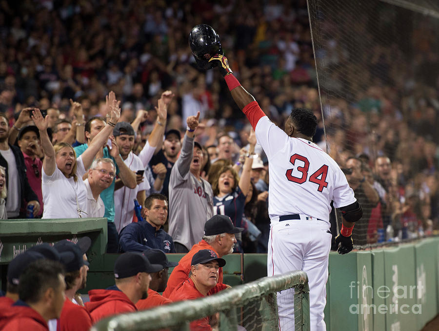David Ortiz Photograph by Michael Ivins/boston Red Sox