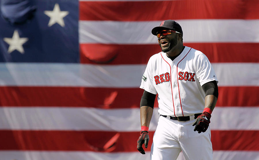 David Ortiz Photograph by Winslow Townson