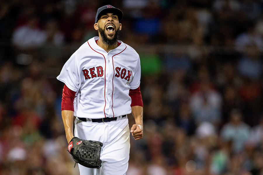 David Price Photograph by Billie Weiss/boston Red Sox
