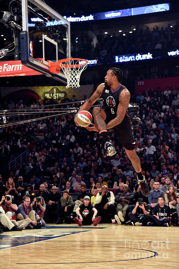 Deandre Jordan Photograph by Bill Baptist