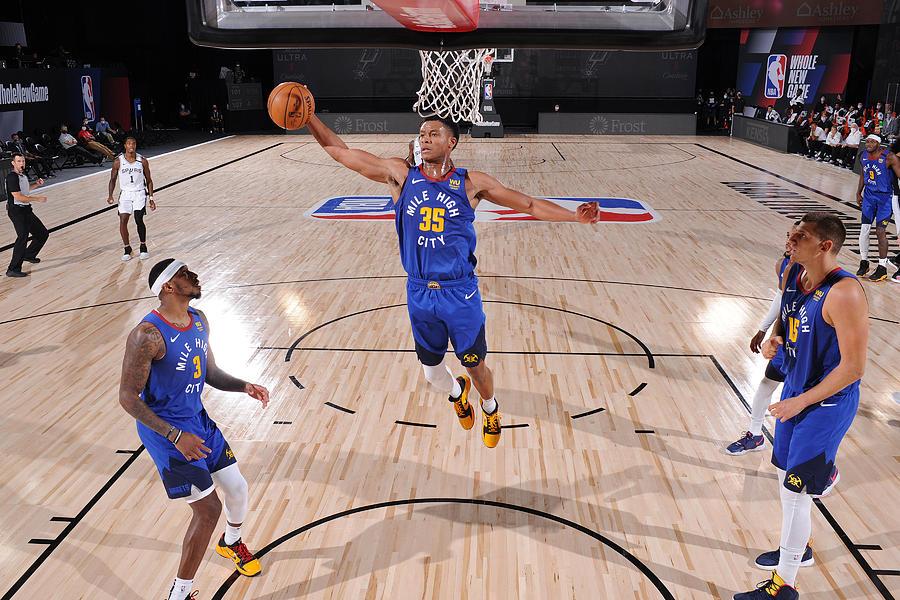 Denver Nuggets v San Antonio Spurs Photograph by David Dow