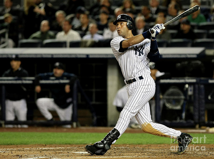 Derek Jeter Photograph by Nick Laham