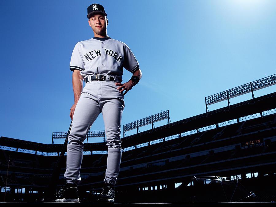 Derek Jeter Photograph by Ronald C. Modra/sports Imagery