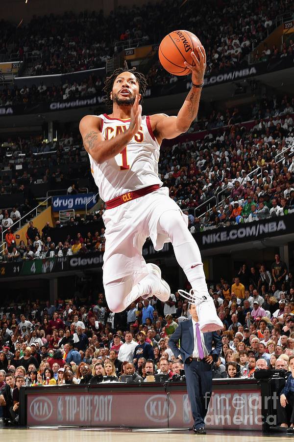 Derrick Rose Photograph by Jesse D. Garrabrant