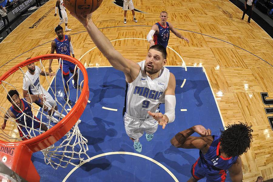 Detroit Pistons v Orlando Magic Photograph by Fernando Medina