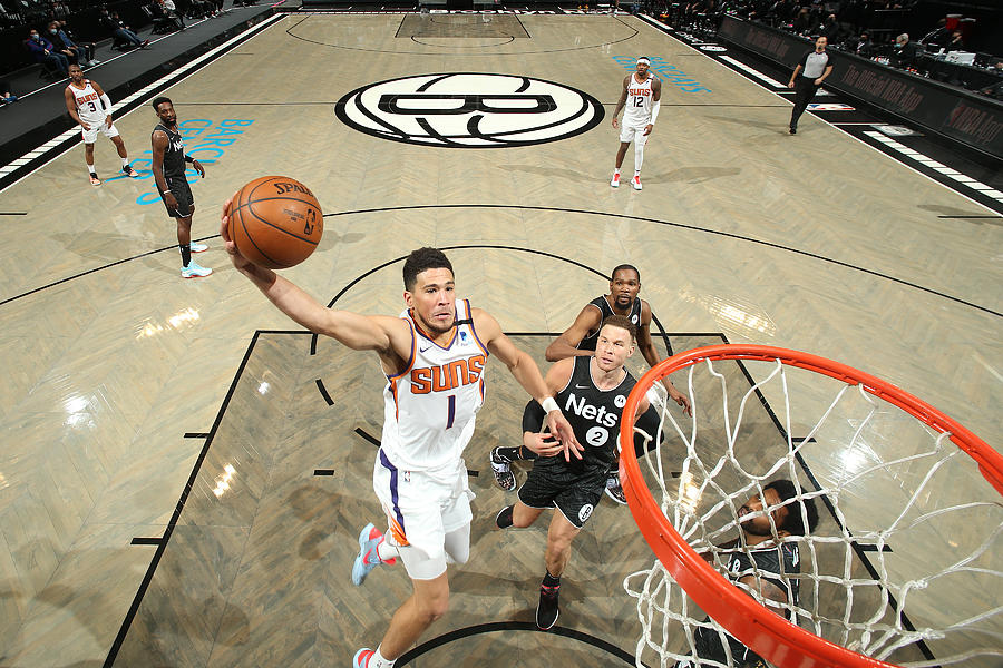 Devin Booker Photograph by Nathaniel S. Butler