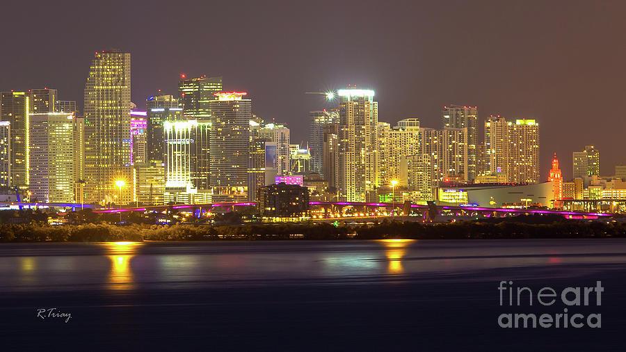 Downtown Miami Skyline by Rene Triay Photography