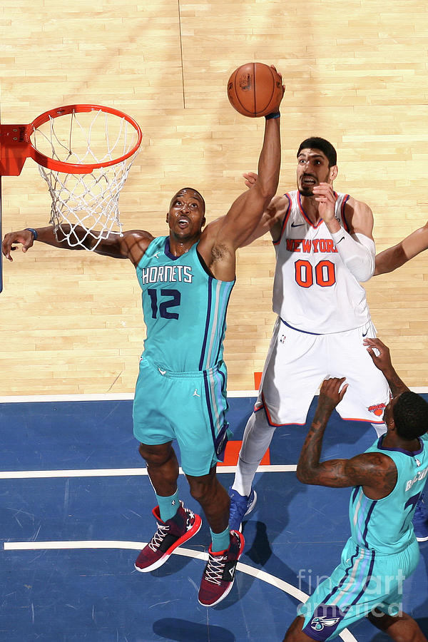Dwight Howard Photograph by Nathaniel S. Butler