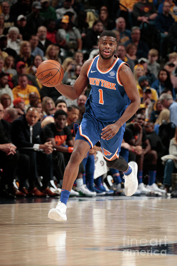 Emmanuel Mudiay Photograph by Ron Hoskins