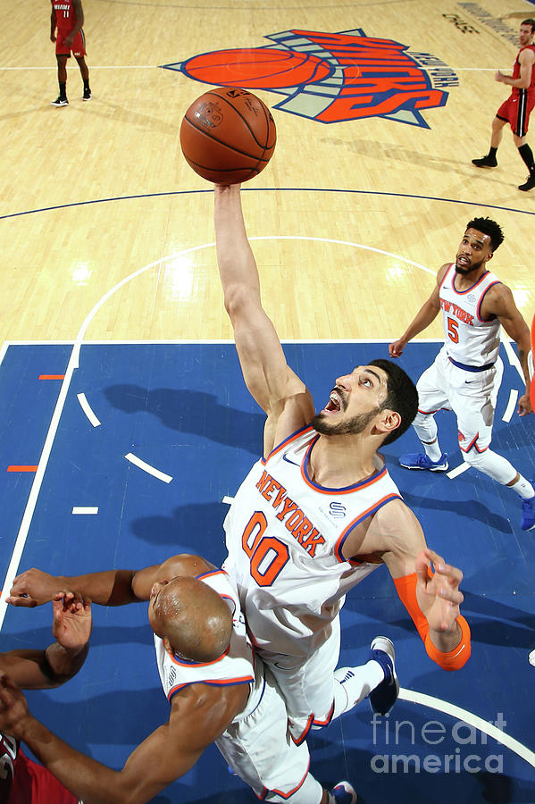 Enes Kanter Photograph by Nathaniel S. Butler