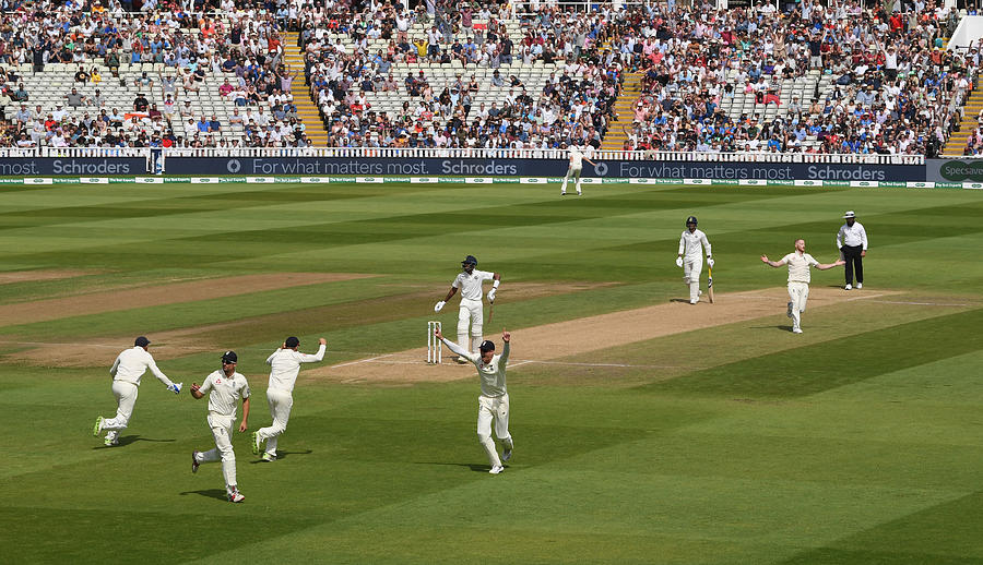 England v India: Specsavers 1st Test - Day Four Photograph by Stu Forster