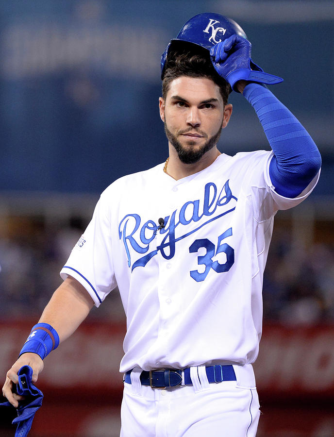 Eric Hosmer Photograph by Ron Vesely