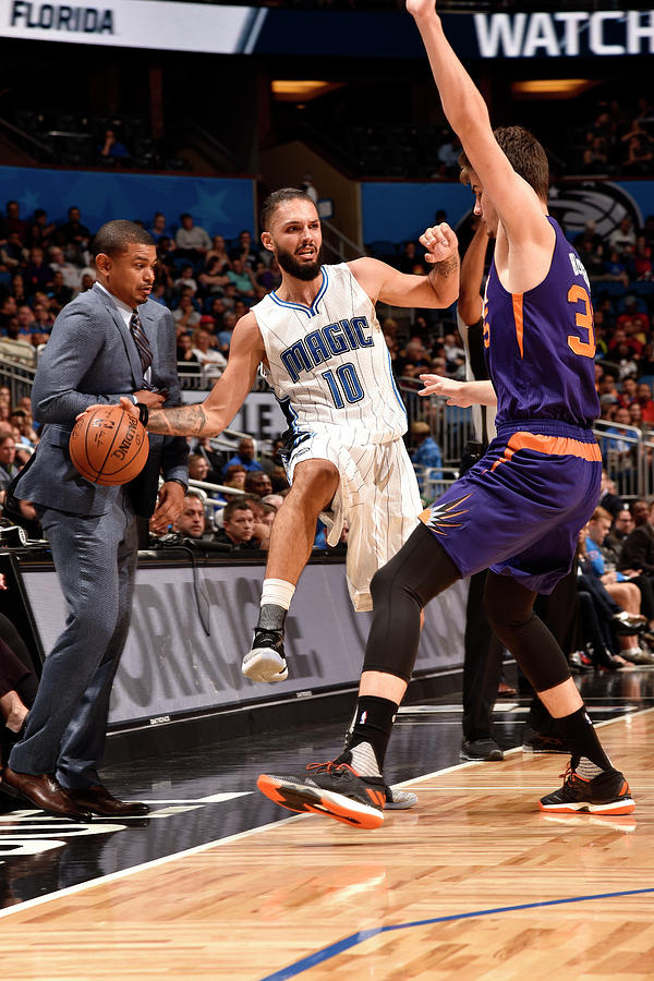 Evan Fournier Photograph by Gary Bassing
