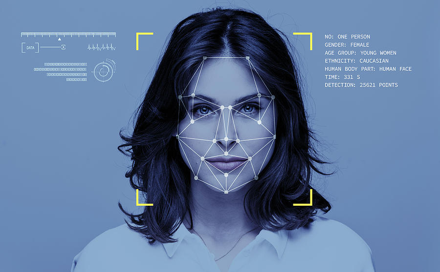 Facial Recognition Technology Photograph by Izusek