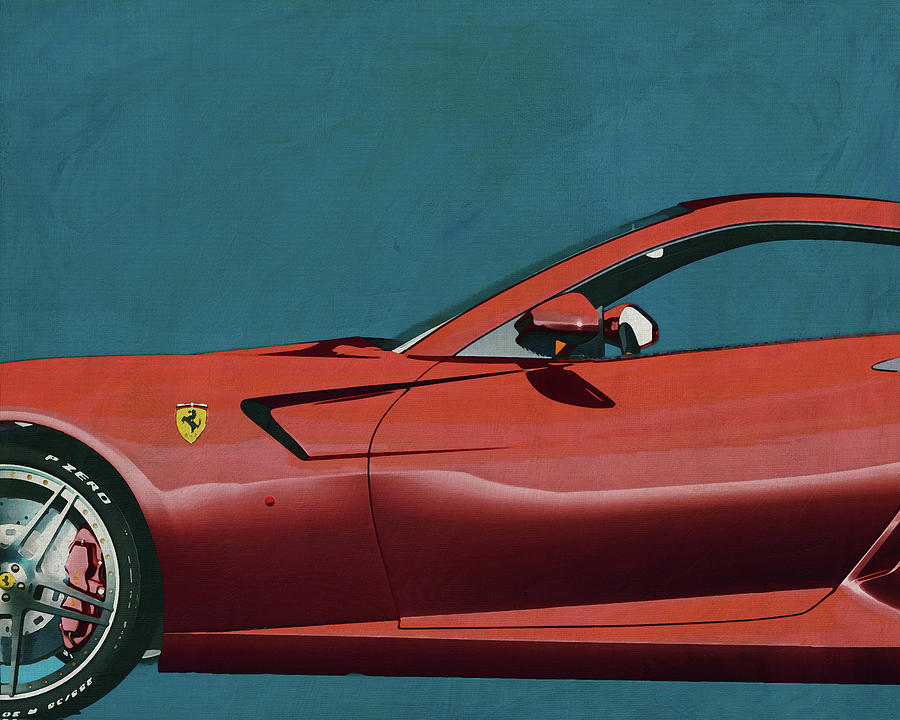 Ferrari 599 GTB Fiorano 2006 by Jan Keteleer