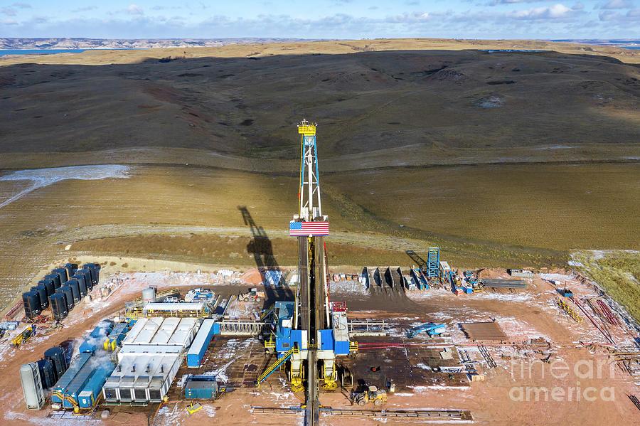 Fracking Photograph