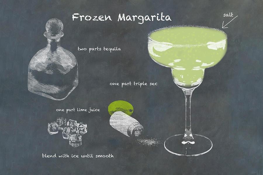 Frozen Margarita Photograph