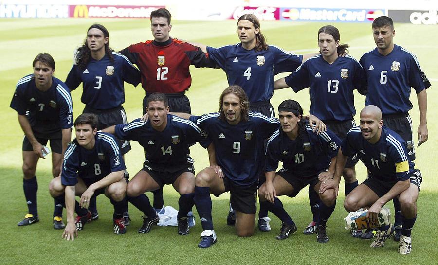 FUSSBALL: WM 2002 in JAPAN und KOREA, ARG - NGA 1:0 Photograph by Martin Rose