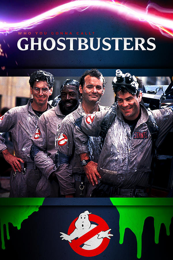 Ghostbusters 1984 Digital Art By Geek N Rock