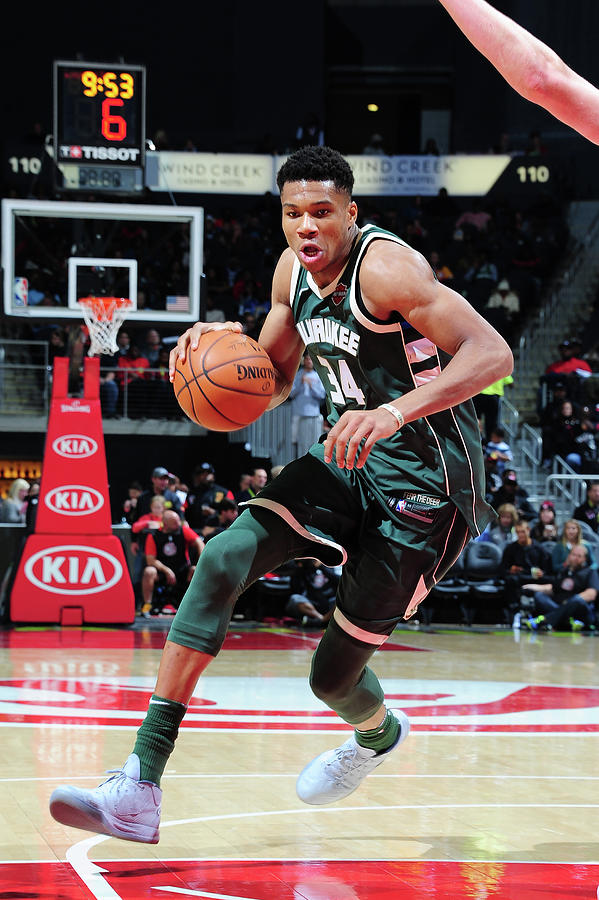 Giannis Antetokounmpo Photograph by Scott Cunningham