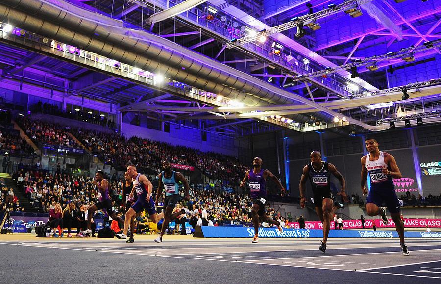 Glasgow Indoor Grand Prix Photograph by Dan Mullan