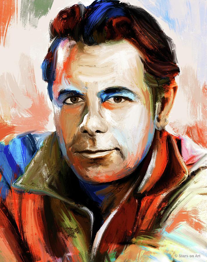 Glenn Ford by Stars on Art
