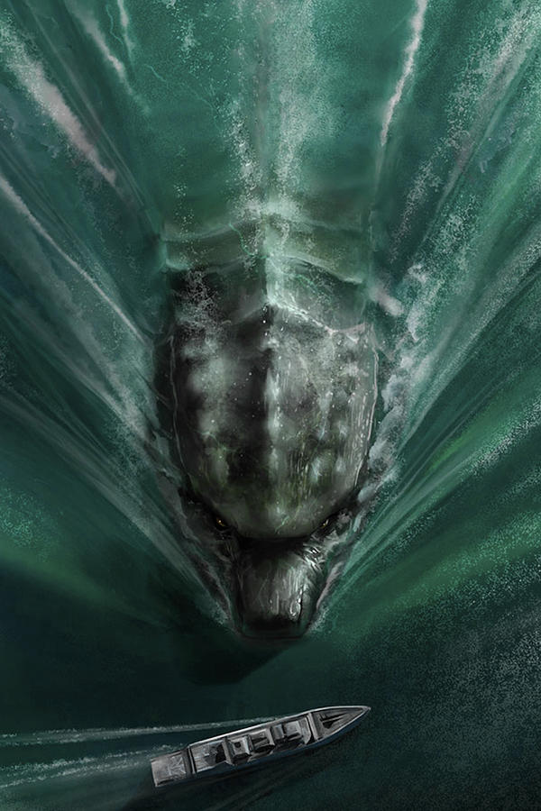 Godzilla 2014 Digital Art By Geek N Rock