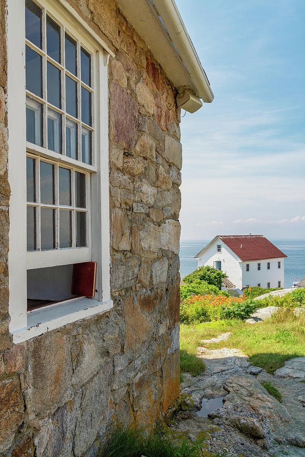 Gosport Village Church on Star Island in the Isles of Shoals, New Hampshire by Dawna Moore Photography