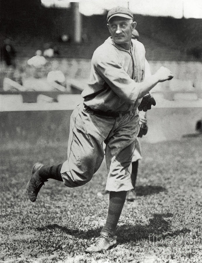 Honus Wagner Photograph by National Baseball Hall Of Fame Library
