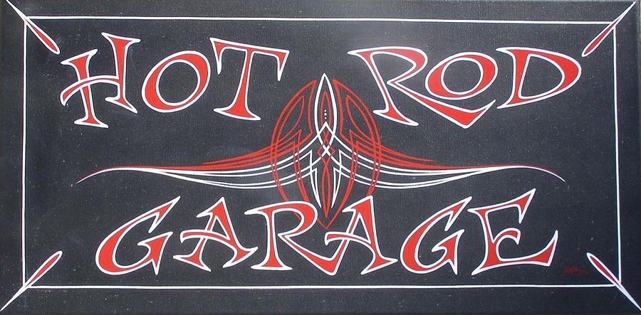 Hot Rod Garage by Alan Johnson