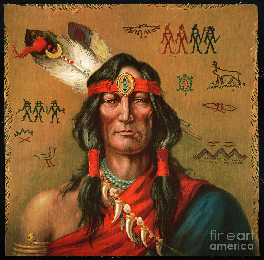 Indian Chief by Carlos Diaz