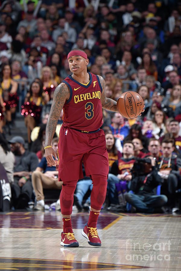 Isaiah Thomas Photograph by David Liam Kyle