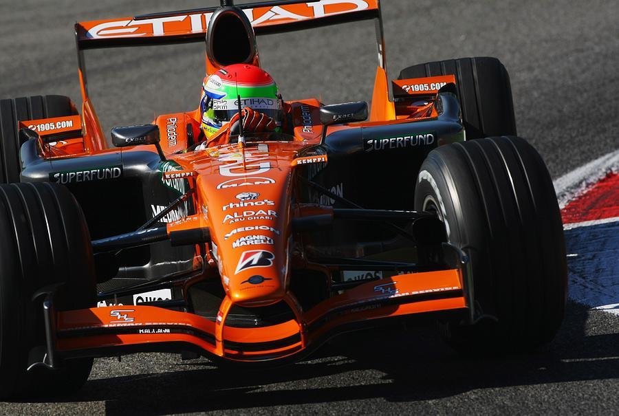 Italian Formula One Grand Prix: Practice Photograph by Clive Mason