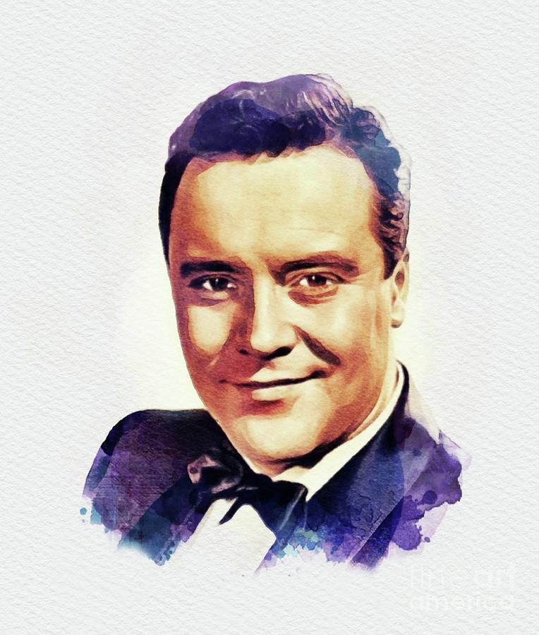 Jack Lemmon, Movie Legend Painting