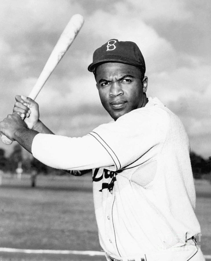 Jackie Robinson Photograph by National Baseball Hall Of Fame Library