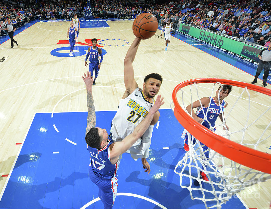 Jamal Murray Photograph by Jesse D. Garrabrant