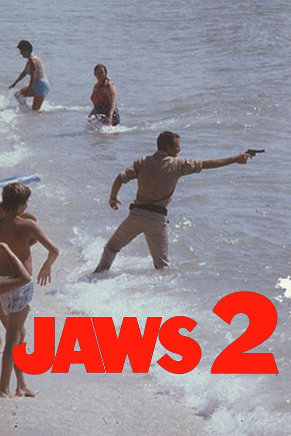 Jaws 2 1978 Digital Art By Geek N Rock