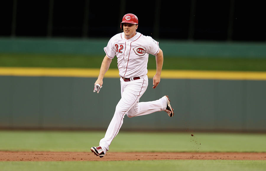 Jay Bruce Photograph by Andy Lyons