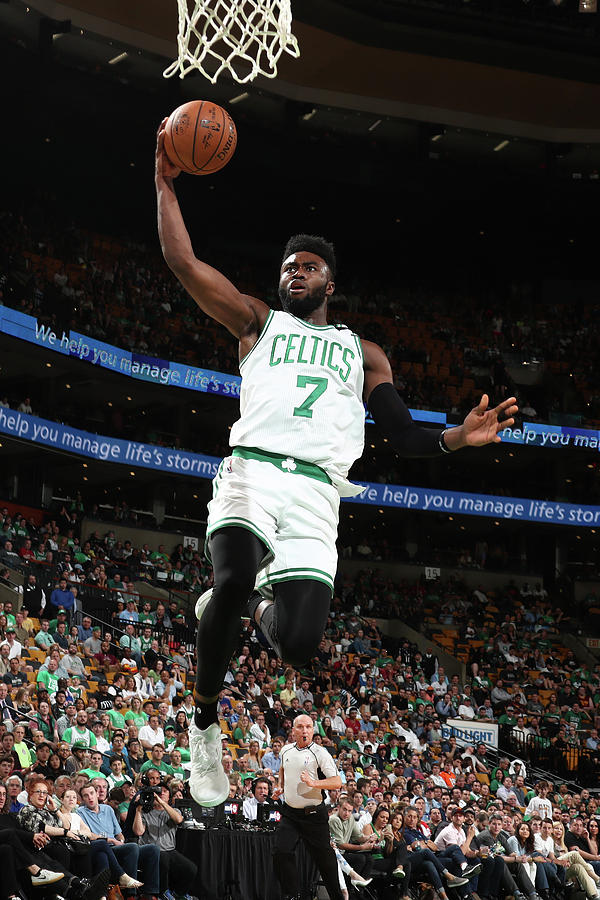 Jaylen Brown Photograph by Nathaniel S. Butler