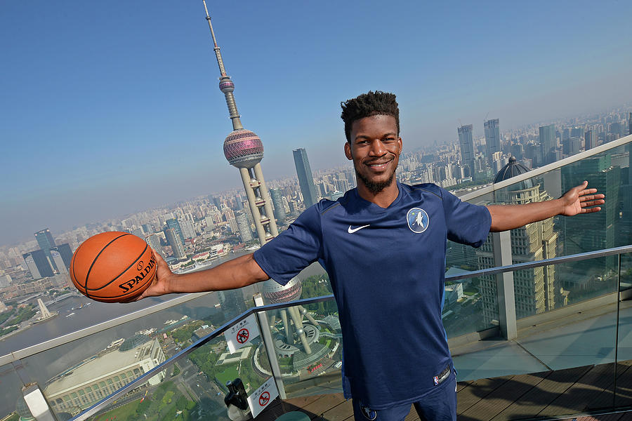 Jimmy Butler Photograph by David Dow