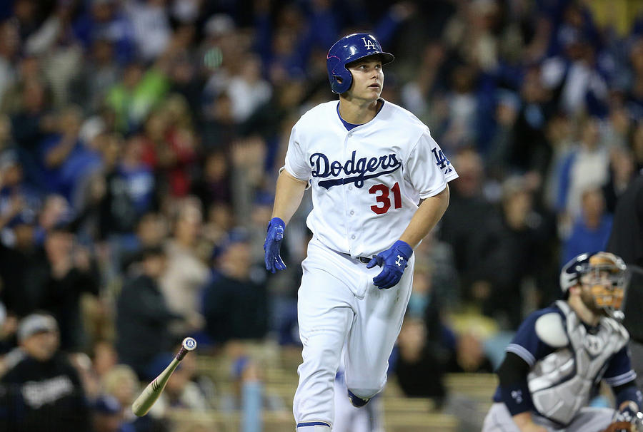 Joc Pederson Photograph by Stephen Dunn