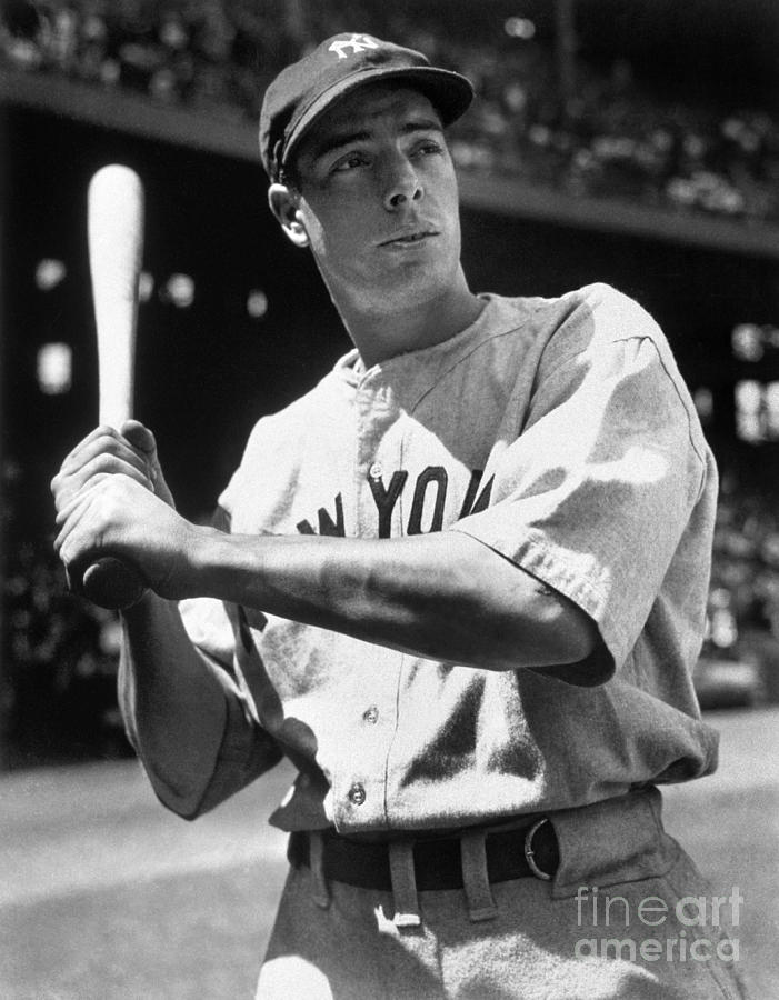 Joe Dimaggio Photograph by National Baseball Hall Of Fame Library