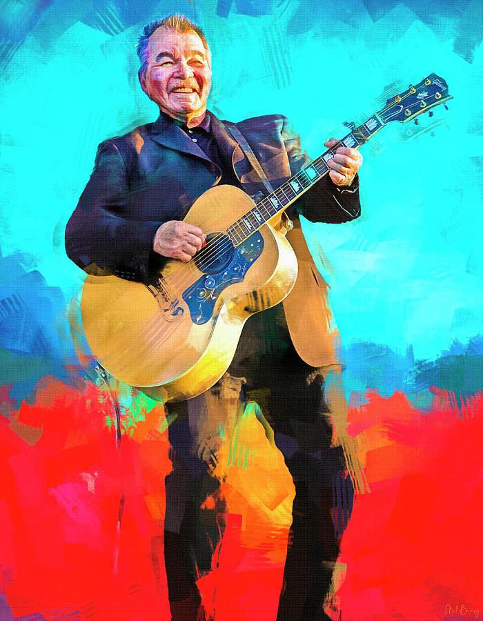 John Prine Singer Songwriter Mixed Media