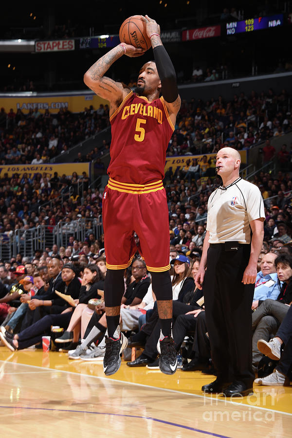 J.r. Smith Photograph by Andrew D. Bernstein
