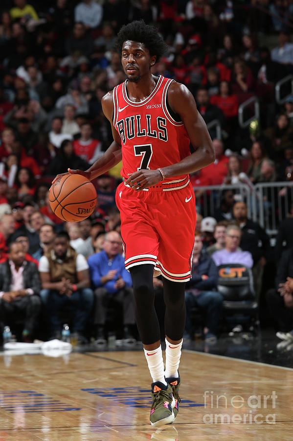 Justin Holiday Photograph by Gary Dineen