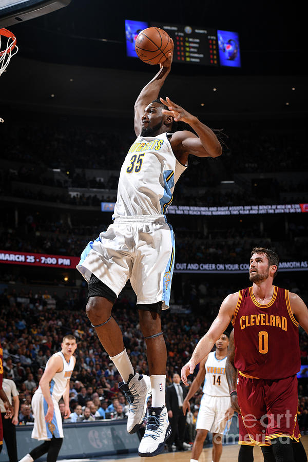 Kenneth Faried Photograph by Garrett Ellwood